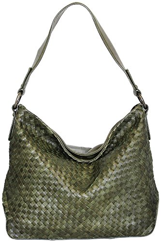 nino-bossi-woven-calfskin-daisy-bloom-shoulder-bag-green