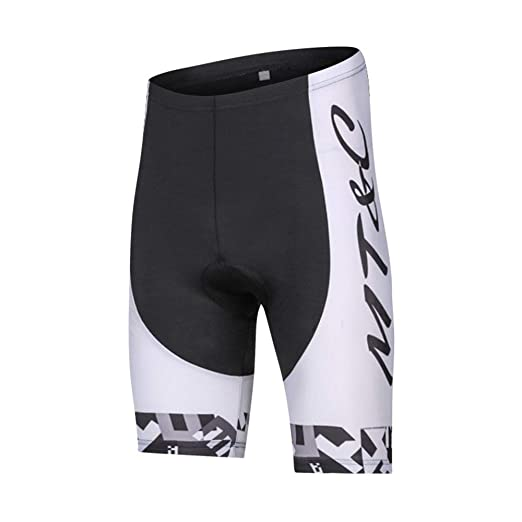 BFHCVDF Hombres Hombres Ciclismo Babero Pantalones Cortos ...