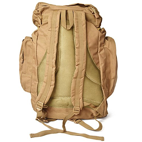 aaeca14efca9 Amazon | ROTHCO ロスコ 45L TACTICAL BACKPACK バックパック バッグ カバン リュック 2848 COYOTE  BROWN 45リットル 軍物 ミリタリー BROWN ONE SIZE ...