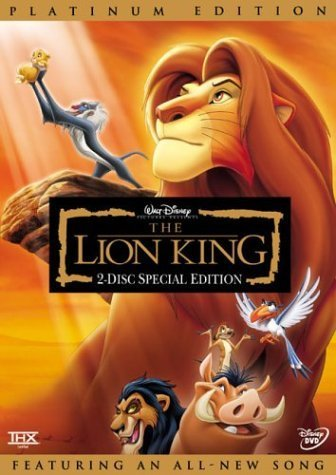 New The Lion King Platinum Edition (DVD)