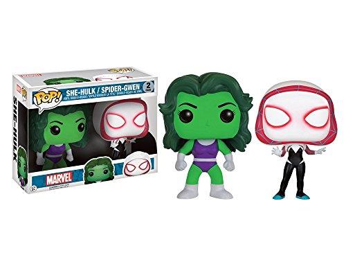 Pop! Funko She-Hulk/Spider-Gwen two pack (Exclusive Spider)