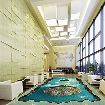 Ddbbhome Love Island 3d Bodenbelag Malerei Hotel Buro Lobby