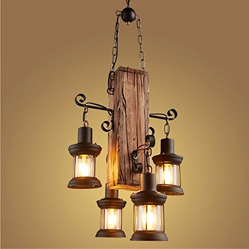 Wooden Outdoor Lighting