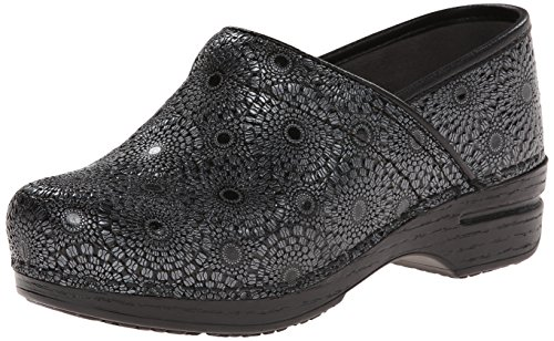 Dansko Women's Pro XP Mule, Black Medallion Patent, 39 EU/8.5-9 M US