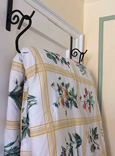 Things Made Easy Bedding Over-Door Hanger for Storage and Organization Holds Twin to King