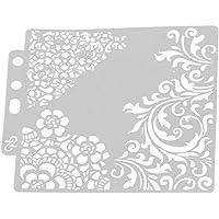 Plantilla de Dibujo Surtido de Patrones Hollow out Art Painting Template para Craft Scrapbooking DIY Decoración de Pasteles (S53)