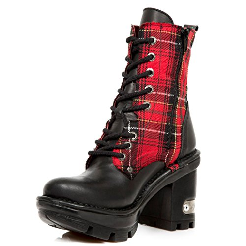 M Rock Nr NEOTYRE07T Womens New NEWROCK Boots S1 Red Ft1nqFZx