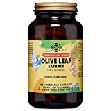 Solgar – Standardized Full Potency Olive Leaf Extract, 180 Vegetable Capsules