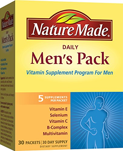 Nature Made Daily Men's Pack Vitamin Supplement Program 30 Each ( Pack of 2)