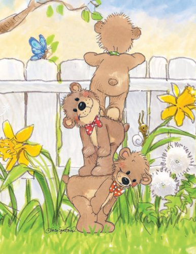 (Suzy's Note Card Collection Stationery, Three Bears - 10853)