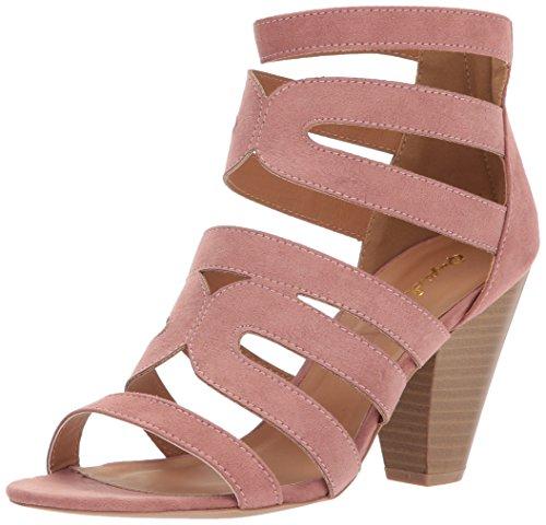 Qupid Women's CHAMBER-26X Heeled Sandal