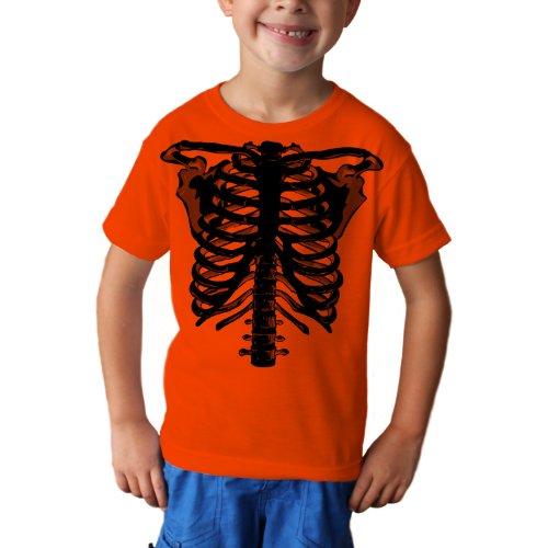 [Zombie Skeleton Youth Halloween Costume Unisex Short Sleeve TShirt Large] (Quick Halloween Costume Ideas For Boys)