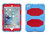 Best Griffin Technology Ipad Mini Case For Kids - Griffin, iPad mini 4 Case with Stand, Blue Review