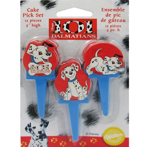 101 Dalmatians Cupcake Picks (12ct)