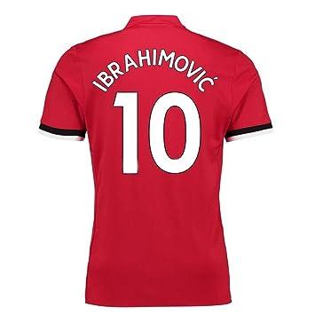 LDFN Zlatan Ibrahimović #10 Camiseta de fútbol para Hombre ...