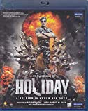 Holiday Hindi Blu-Ray (Akshay Kumar, Sonakshi Sinha) (Bollywood/Indian Cinema/Film/2014 Movie) (2014)