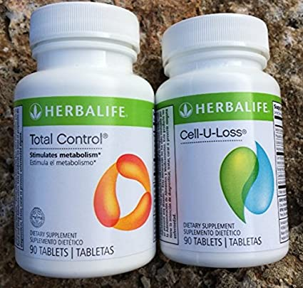 Amazon.com: Herbalife Total Control y cell-u-loss Combo 90 ...