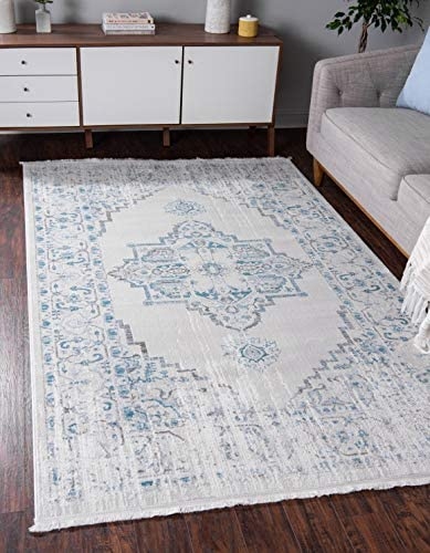 Unique Loom New Classical Collection Traditional Distressed Vintage Classic Beige Area Rug 8 0 x 10 0