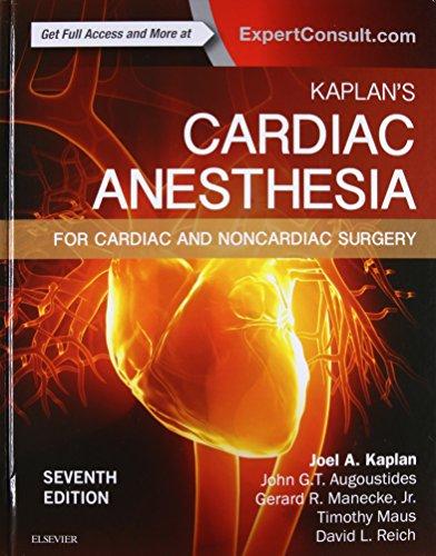 Pdf Medical Books Kaplan's Cardiac Anesthesia: In Cardiac and Noncardiac Surgery