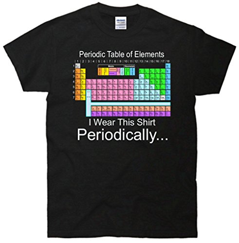 I Wear this Shirt Periodically Periodic Table of Elements T-Shirt