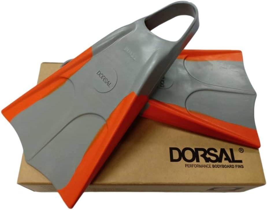 Dorsal Bodyboard Swimfins Flippers XL 12-13.5