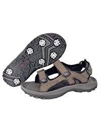 Orlimar Apollo Golf Sandals, Men's, 12, Medium, Brown