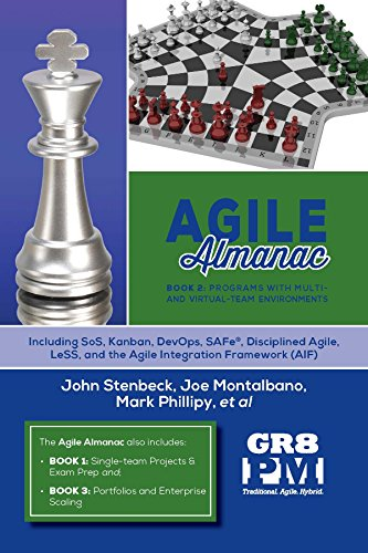 Agile Almanac  Book 2: Programs with Multi  and Virtual-Team Environments cover