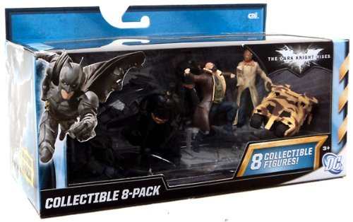THE DARK KNIGHT RISES COLLECTIBLE 8 PACK FIGURES