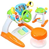 AMOSTING Pretend & Play Ride On Toys for Toddler Boys Girls Learning & Educational Baby Driver Toy Cars for Preschool Kids