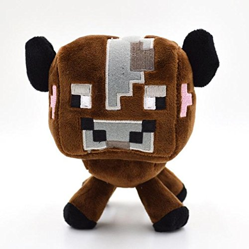 Toys Minecraft Creeper Enderman Wolf Steve Zombie Spider Sketelon - Brown Cow for $<!--$9.95-->