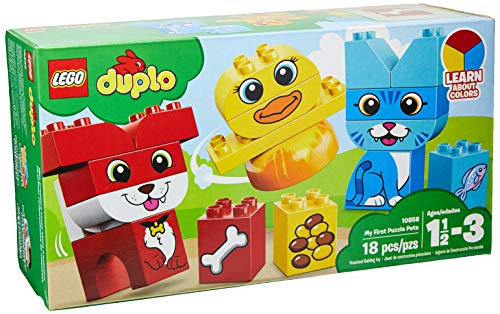 LEGO DUPLO My First Puzzle Pets 10858 Building Blocks (18 - Car Memory Lane