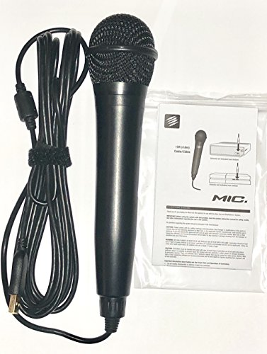 Rock Band USB Karaoke Microphone for PS3, PS4, X-Box One, X-Box 360, PC & Mac