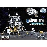 Dragon Espace Apollo 12 Lunar Landing CSM Module Lunaire Surveyor 3 et Astronautes 1/72 50387