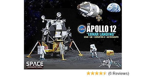 Amazon com: Dragon Models 1/72 Apollo 12