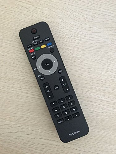 New Replacement Remote Control for Philips TV 19PFL3504D/F7 19PFL3505D/F7 19PFL4505D/F7 19PFL3403D/27 -  BOMAZ