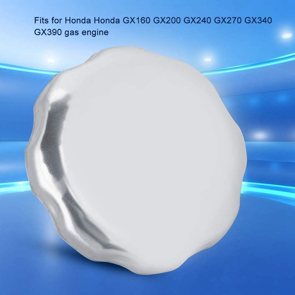 Chrome Fuel Gas Tanks Lid for Hondas GX160 GX200 GX240 GX270 GX340 GX390 Engines