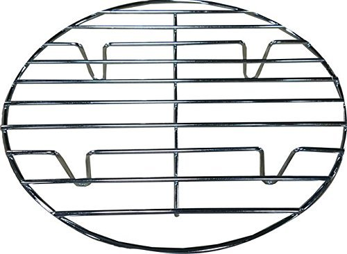 Bioexcel Round Chrome Plated 11 Inch/28 Cm Steamer Rack For Cooking - Choose Sizes 8 Inch To 20 Inch