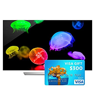 """LG 65EF9500 65"""" Class 4K Ultra HD 3D OLED Smart TV with FREE $300 Visa Gift Card"""