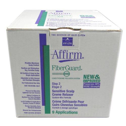Avlon Fiber Guard Sensitive Scalp Relaxer Kit by Avlon