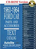 1960 thru 1964 Ford Car Parts and Accessory Catalog