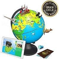 [Patrocinado] Shifu orboot: Un educativo, Realidad Aumentada basado Globe para niños | Tallo Juguete para Niños & Niñas 4años de edad a 10años | ideal navidad niños regalo