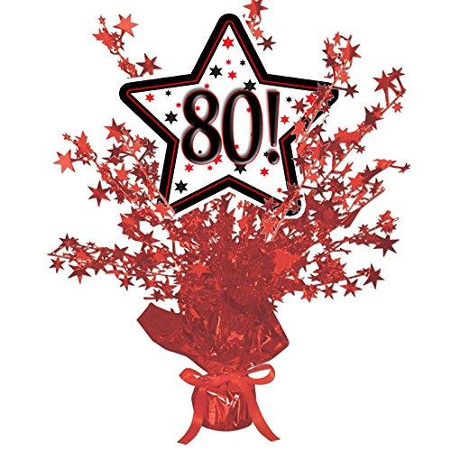 80! RED STAR CENTERPIECE -