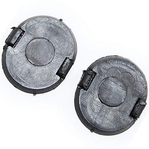 Hotwin 2PCS E01650796 Left & Right Cowl Grille Screw Hole Cap Compatible with Mazda Miata Millenia MPV Protege RX7 ()