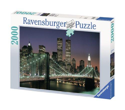 Ravensburger NYC - Brooklyn Bridge - 2000 Piece Puzzle