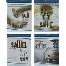 Saw Blu Ray Series Collection: Saw I / Saw II / Saw III / Saw IV