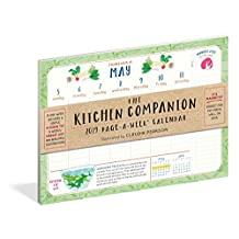 The Kitchen Companion Page-A-Week Calendar 2019