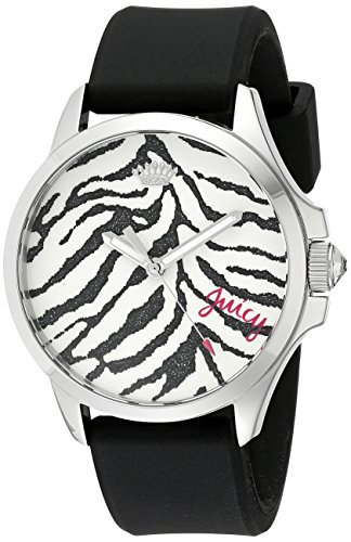 Juicy Couture Women's 1901323 Daydreamer Analog Display Quartz Black Watch