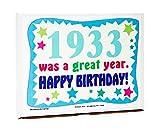 Woodstock Candy ~ 1933 87th Birthday Gift Box