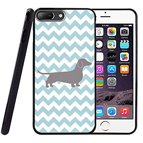 (Drop Proof Designer Pair Giraffes Designer Animal Pattern Design Print for iPhone 7 Plus Cover Case Giraffe Print Black TPU Case 250mm300mm)