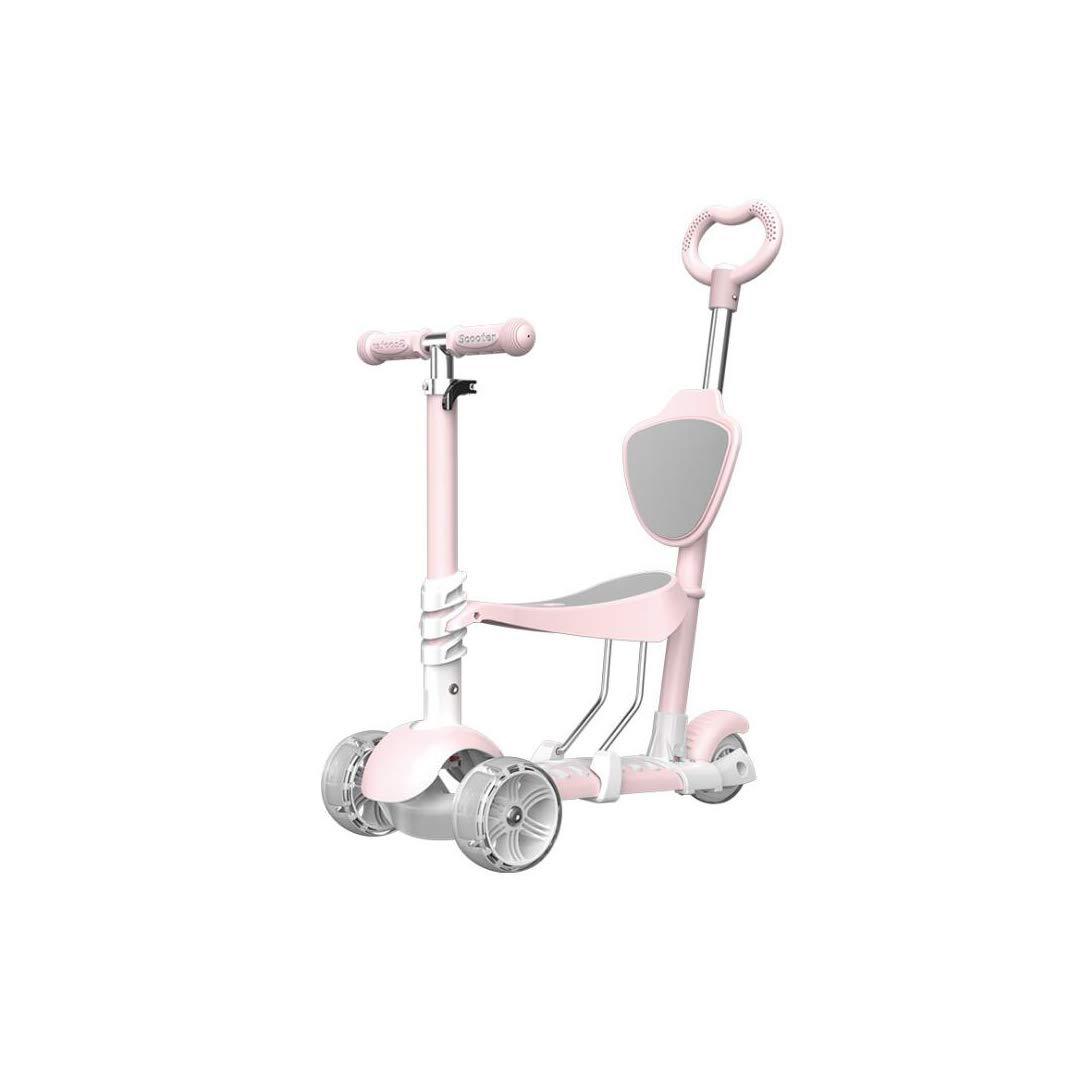 【驚きの価格が実現!】 TLMYDD TLMYDD : 2-3-6歳の子供のスリーインワンスクーターはスライド赤ちゃんのスクーターを点滅三輪の子供たちが座っていることができます 子供スクーター (色 : Green) B07NRS7QJM B07NRS7QJM Pink Pink, フルウグン:d188a04e --- a0267596.xsph.ru
